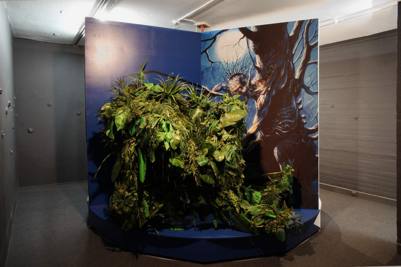 Vue de l'exposition / N°13 / Sophie Graniou / Cortex préfontal 2016